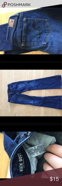 American Eagle Jeans Kickboot, American Eagle jeans, size 2 very good condition American Eagle Outfitters Pants Boot Cut & Flare