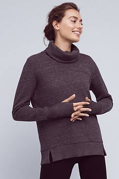 Cowled Haze Pullover