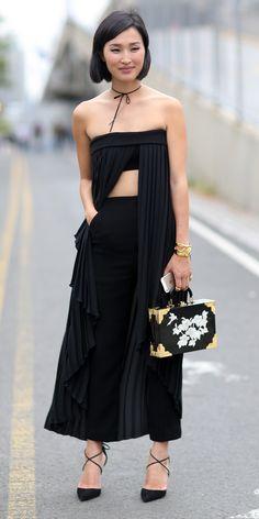 Nicole Warne (garypeppergirl) #NYFW Spring 2015 Street Style