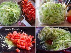 Espaguete de abobrinha é uma boa alternativa para comer aquele pratão de macarronada e ainda emagrecer bem gostoso! Nutritivo gostoso e facílimo de fazer.