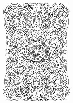 mandala colouring page *for the kids who get drug to school with their parents and are bored out of their manners