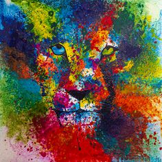 Do You Like It, Big Cats, Lion, Facebook, Painting, Leo, Painting Art, Lions, Paintings