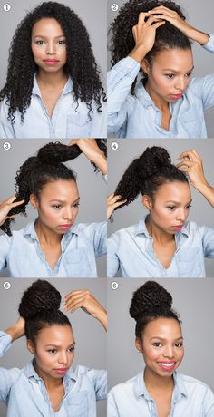 Are you in a hurry and do not know how to shape your wavy curly hair? I give you the guidelines to take advantage of 6 very easy hairstyles, Curly Hair Styles, Curly Hair Tips, Curly Hair Care, Curly Girl, Natural Hair Styles, Down Hairstyles, Easy Hairstyles, Formal Hairstyles, Curls Overnight