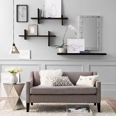 Perfekt Dekorationsideen Wohnzimmer Regale