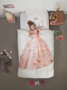 Princess Print Duvet Set NEW