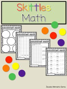 Have your students practice sorting, graphing and adding with this fun activity. You students will enjoy working with skittles and love being able to eat them when you are done. Math Lessons, Math Activities, Sorting, Students, Eat, Pattern, Patterns, Model, Swatch