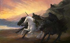 Asfaloth and Nazgûl