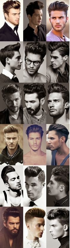 Classic pompadour hairstyle | Raddest Looks On The Internet: http://www.raddestlooks.net