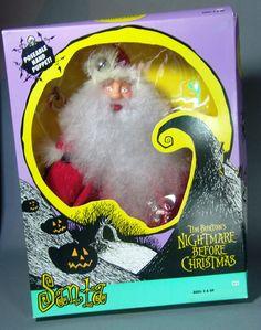 Nightmare Before Christmas Hasbro Cloth Santa