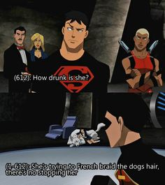 15 Drunk Texts The Young Justice League Probably Sent