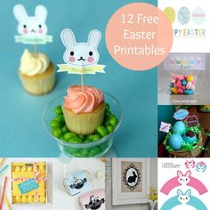 12 Cute and FREE Easter Printables