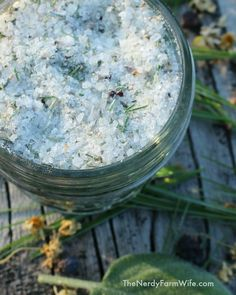 DIY Sore Muscles Salt Soak Recipe