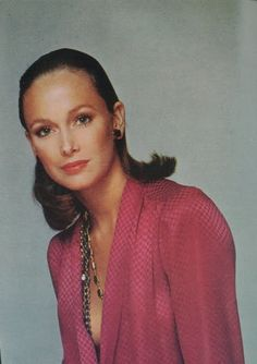 Is Karen Graham one the first super models, she coveted the Estee Lauder campaign a great fete .