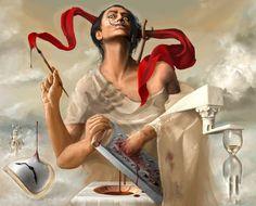 Salvador Dali autosodomized by neofotistou on deviantART