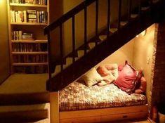 28 Under Stairs Reading Nook Ideas