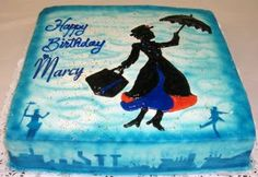 One great Mary Poppins bday cake :) 40th Birthday Cakes, 4th Birthday Parties, Birthday Invitations, Birthday Nails, Birthday Gifts For Teens, Teen Birthday, Birthday Ideas, Birthday Recipes, Birthday Girl Pictures