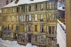 Glasgow - never thought a tenement building would be something I love. Urban Landscape, Landscape Art, Gorbals Glasgow, Building Art, Slums, Art Plastique, Best Cities, Edinburgh, Home Art
