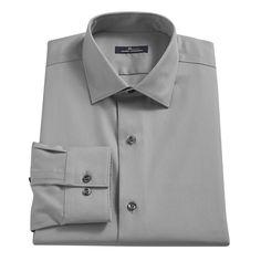 Men's Marc Anthony Slim-Fit No-Iron Dress Shirt