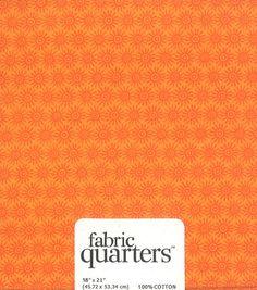Fabric Quarters Assorted Fabric Orange