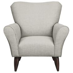 Living Room Furniture - Jessie Chair w/ Polo Storm Fabric