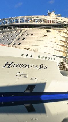 Harmony of the Seas | Royal Caribbean's newest addition begins her journey in Barcelona, and is now the largest ship in the world.