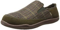 ACORN-Mens-Wearabout-Mule Acorn, Suede Leather, Arch, Slippers, Slip On, Technology, Mens Fashion, Vegan, Easy