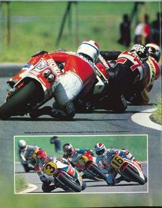 Spencer.Sheene.Roberts.Lucchinelli Argentina GP 1982