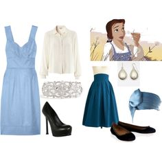 Belle inspired outfits - Beauty and the Beast