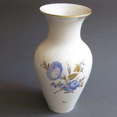 KPM Berlin Vase 33 cm mit Blumen 1.Wahl!
