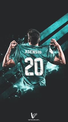 Marco Asensio Willemsen is a Spanish professional footballer who plays as an att. Real Madrid Logo, Real Madrid Team, Ronaldo Real Madrid, Real Madrid Players, Cristiano Messi, Messi Neymar, Real Madrid Wallpapers, Santiago Bernabeu, Birth Affirmations