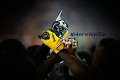 Via  Pittsburgh Steelers  @Erin Steelers Football KICKOFF! #HereWeGo