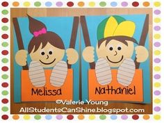 This craftivity makes a great bulletin board for the first weeks of school, no matter what grade!