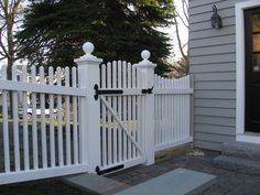 Gate Design and Installation, North Shore greater Boston Massachusetts - Malone Fence Company Salem MA Fence Landscaping, Backyard Fences, Fence Garden, Pool Fence, Concrete Fence, Bamboo Fence, Brick Fence, Fence Doors, Fence Panels