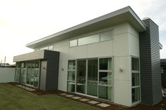 Titan™ Facade Panel by James Hardie. Facade Panel is an external cladding for commercial and residential projects. External Cladding, Vertical Siding, James Hardie, House Front, Tiny House, Facade, House Ideas, Hardy Siding, Outdoor Decor
