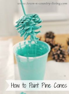 Have an abundance of pine cones this fall? Check out these 25 pine cone crafts and put them to good use! Pinecone crafts for the holidays. Kids Crafts, Fall Crafts, Holiday Crafts, Crafts To Make, Craft Projects, Decor Crafts, Craft Ideas, Pinecone Crafts Kids, Pine Cone Crafts For Kids