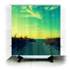 Fabric Shower Curtain   Walk in Love  Photography by RDelean, $60.00