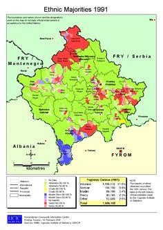 Kosovo minorities 1991