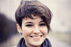 Trendy Pixie Cuts For Round Faces                                                                                                                                                     More