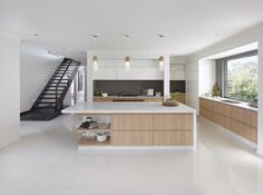 Contemporary Kitchen Design Trends of 2018 - iBuildNew Contemporary Kitchen Design, Contemporary Decor, Kitchen Room Design, Kitchen Ideas, Kitchen Designs, Melbourne House, Storey Homes, New Home Designs, Finding A House