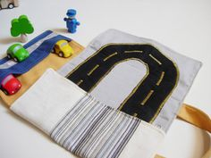 Car roll holder and little play mat for kids от robedellarobi