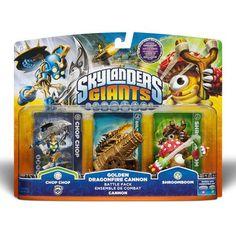 #Walmart: Skylanders Giants Golden Dragon Character Pack - $3.33 - Walmart http://www.lavahotdeals.com/us/cheap/skylanders-giants-golden-dragon-character-pack-3-33/45616