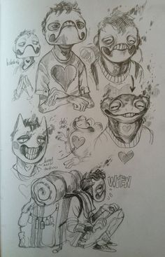 Perfect Retail Harmony - Zacharie is literally a frog (and he has a heart...