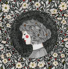 Cover art for Anna Cordell~Artwork © Daria Hlazatova, 2014 Wow Art, Psychedelic Art, Illustrations And Posters, Belle Photo, Art Inspo, Painting & Drawing, Illustrators, Artwork, Art Projects