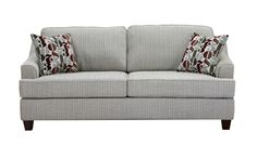 Burnby sofa 80.5w x 39.5d x 36h  in pewter