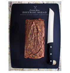 Grain free zucchini bread