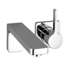 LULU wall mounted single-lever basin mixer by Dornbracht