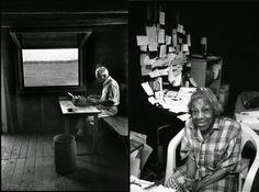 Jill Krementz. The writer's desk