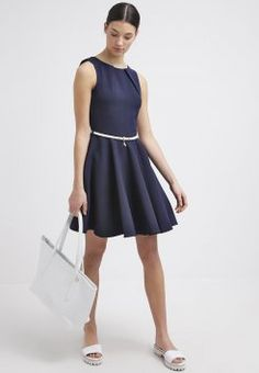 Buy Navy Closet Casual dress for woman at best price. Compare Dresses prices from online stores like Zalando - Wossel United States Casual Dresses For Women, Dresses For Work, Formal Dresses, 2015 Dresses, Dresscode, Office Fashion, Everyday Fashion, Navy, How To Wear