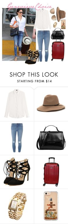 """""""Meghan Markle"""" by genevieve-choice ❤ liked on Polyvore featuring Joseph, Dorothy Perkins and Kenneth Cole"""