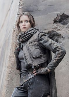 "dailyfelicityjones: ""Felicity Jones as Jyn Erso in Rogue One: A Star Wars Story """